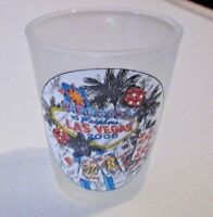 Welcome to Fabulous Las Vegas Nevada 2000 Frosted Shot Glass