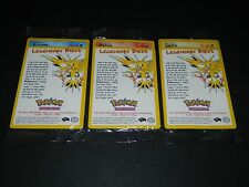 Pokemon Promotional Set (Promo) Legendary Bird Set - ALL 3 CARDS - NEW / SEALED