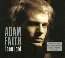 ADAM FAITH TEEN IDOL - 2 CD BOX SET - WHAT DO YOU WANT? & MANY MORE