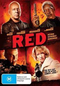 RED starring Bruce Willis (DVD, 2011)