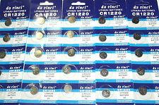 1 pile bouton cr1220 ithium batterie 3v ,4 piles achetés = 5 piles livrés