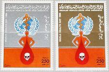 Libia Libia 1986 1654-55 1303-04 who World healt Day celebriamo MNH