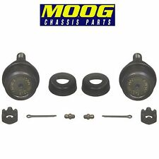 For Dodge Jeep Pair Set of 2 Front Upper Press-in Type Ball Joints Moog K3134T