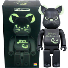 Medicom Be@rbrick Bearbrick Happy Halloween 2016 Black Cat [Green] 400% Figure