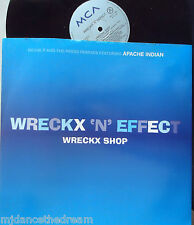 "WRECKX N EFFECT ~ Wreckx Shop ~ 12"" Single PS"