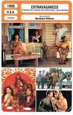 FICHE CINEMA : EXTRAVAGANCES - Snipes,Swayze,Leguizamo,Penn,Kidron 1995
