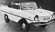 Bauplan Amphicar Modellbau Modellbauplan