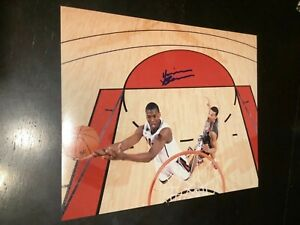 Harrison Barnes Golden state warriors autographed 8x10 !clearance