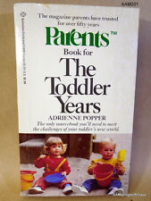 As They Grow: Parents Book for the Toddler Years by Adrienne Popper (1986, PB)