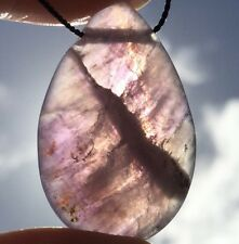 AURALITE 23 CRYSTAL NECKLACE! Jewelry- Amethyst, Cacoxenite, Quartz, Super Seven