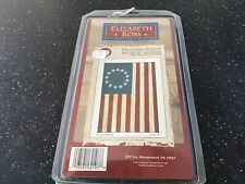 """Betsy Ross Decorative Banner 24""""X36"""" New in Box"""