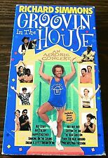 Richard Simmons Groovin In The House (VHS 1998) Exercise Fitness Aerobic Concert