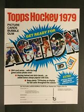 1979-80 Topps Hockey Cards Order / Sale / Sell Sheet Gretzky Rookie Year Sku42