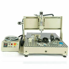 1500w 4axis 6090 Cnc Router Engraver Engraving Carving Milling Machine Cnc6090gz