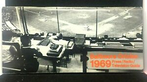 1969 Baltimore Orioles Baseball Press TV Radio Guide