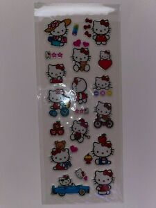 HELLO KITTY New In Package Stickers FREE SHIP! (B)