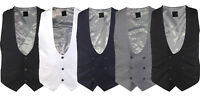 Mens Designer Double Breasted Buttoned Horseshoe Formal Waistcoat Smart Casual