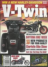 V Twin motorcycle magazine Haley Davidson Daytona Bike week Charlotte bike show