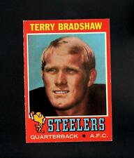 1971 Topps # 156 Terry Bradshaw RC NM