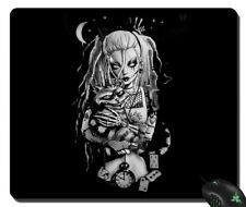 NEW mousepad Zombie alice in wonderland gothic