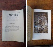 NATURA - Volume 76 - Fasc. 1-4 - 1985 (Argomenti in descrizione)