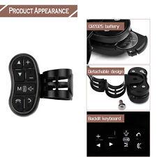 Universal Wireless Auto Lenkradtaste Fernbedienung für Stereo DVD GPS Schwarz