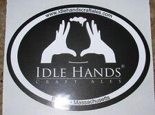 IDLE HANDS CRAFT ALES pandora triplication STICKER craft beer brewery brewing