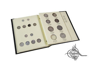 Egypt 1909-1914 Coin Album 1910 1911 1912 1913 AH 1327 Ottoman Sultan Mehmed V