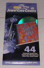 Digital Innovations Write Away Jewel CD Case Covers - 44 Value Pack - NEW - ede