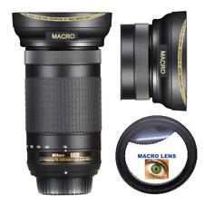 WIDE ANGLE LENS + MACRO FOR Nikon AF-P DX NIKKOR 70-300mm f/4.5-6.3G ED Lens