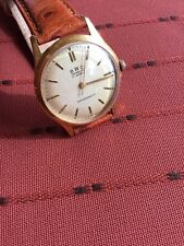 Swiss BWC Incabloc 17 Jewel Gold Filled Watch