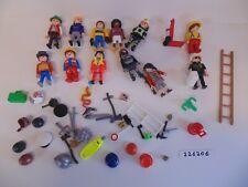 Playmobil Figures Accessories Hats Police Fireman Diver Weapons Tools etc Bundle