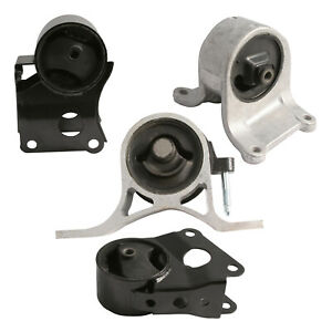 4pc Engine Motor Mounts for 02-06 Nissan Altima 2.5L - AT Automatic Trans #M029