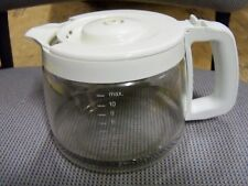 KitchenAid 10 - 12 Cup White Carafe Coffee Pot with Lid