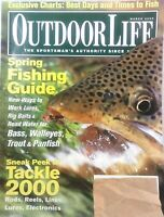 Vintage Outdoor Life magazine (2000) Hunting, Fishing, lure, bait, tackle, boat