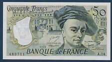 FRANCE - 50 FRANCS QUENTIN DE LA TOUR Fayette n°67.4 de 1979 en NEUF A.14 483711