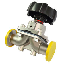 """1/2"""" Stainless Steel 316L Tri-Clamp OD 25.2mm Sanitary Diaphragm valve Water Oil"""