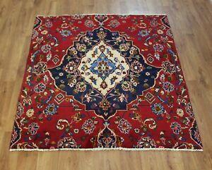 Traditional Vintage Wool Handmade Classic Oriental Areas Rug Carpet 140 X140 cm