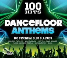 VARIOUS-100 HITS-DANCEFLOOR ANTHEMS. BRAND NEW SEALED 5CD BOXSET