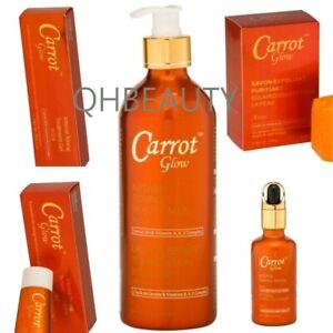 La Belle Carrot Glow Whitening, Lightening Body Lotion, Serum, Cream, Soap, Gel