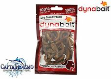 DYNABAIT DRY BLOODWORMS 100% NATURAL FISHING BAIT DYNA BAIT M8785