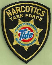 DEA TEHAMA COUNTY CALIFORNIA INTERAGENCY NARCOTICS TASK FORCE POLICE PATCH