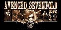 AVENGED SEVENFOLD Logo Photos DeathBat Sticker NEW OFFICIAL MERCHANDISE A7X