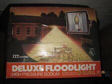 DR50H High-Pressure Sodium 50-Watt Floodlight w/ Bulb NEW ITT Lighting