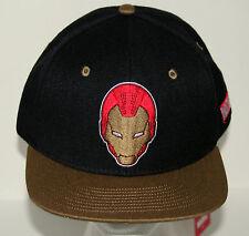 Marvel Comics The Invincible Iron Man Black Baseball Cap Hat New OSFM