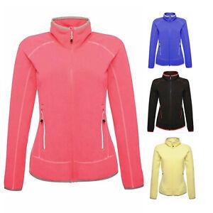 Regatta Womens Ladies Fleece Top Jumper Sweater Zip Midweight Marl Ashmore New