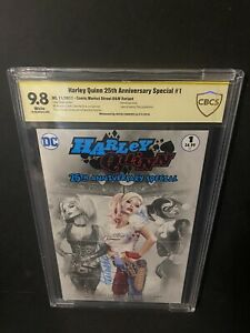 Harley Quinn 25th Anniversary Special #1 Signed Natali Sanders CBCS 9.8