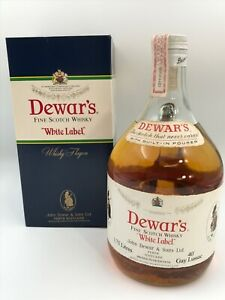 WHISKY DEWAR´S WHITE LABEL BLENDED FINE OLD SCOTCH WHISKY  AÑOS 70 IN BOX 1.75L.