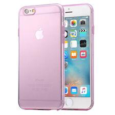 Apple iPhone 6S Hülle / 6 Hülle Silikon Pink Rosa Handyhülle Case Bumper Cover