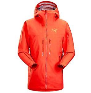 Arcteryx Men's SABRE LT JACKET Color Phoenix (Orange) Size XXL/TTG Gore-Tex NEW